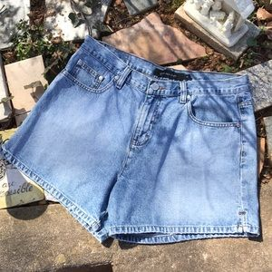 Calvin Klein Jeans Denim Shorts 5 Pockets Slits 10
